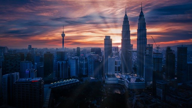 Malezija - Z letalom na poti