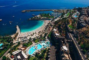 Gran Canaria - Z letalom na poti