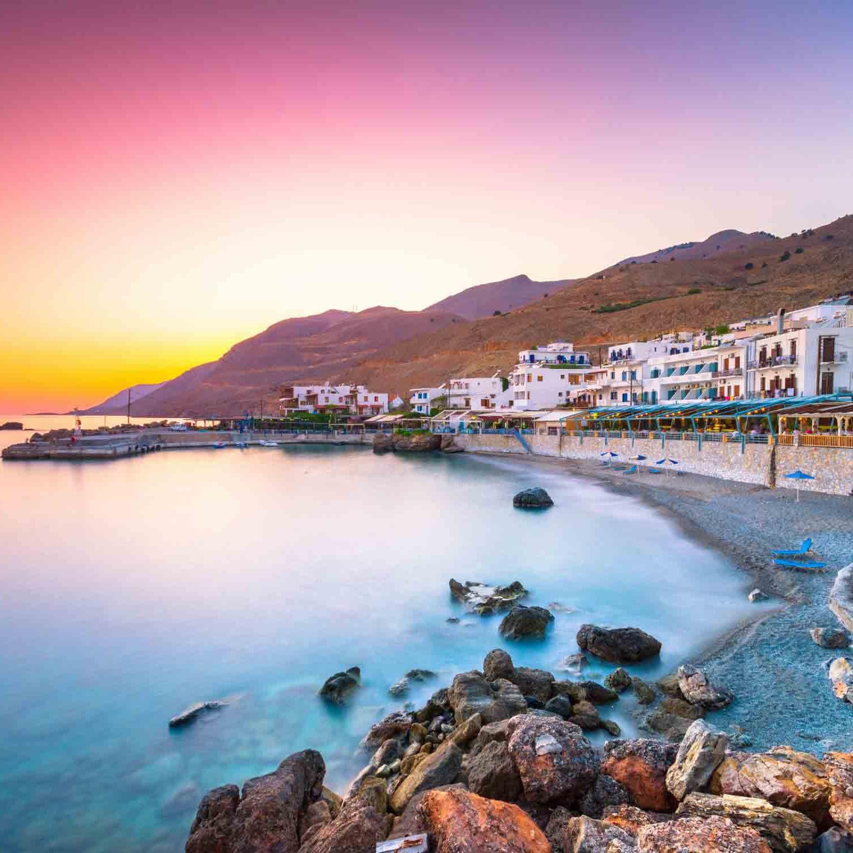 Kreta - Z letalom na poti