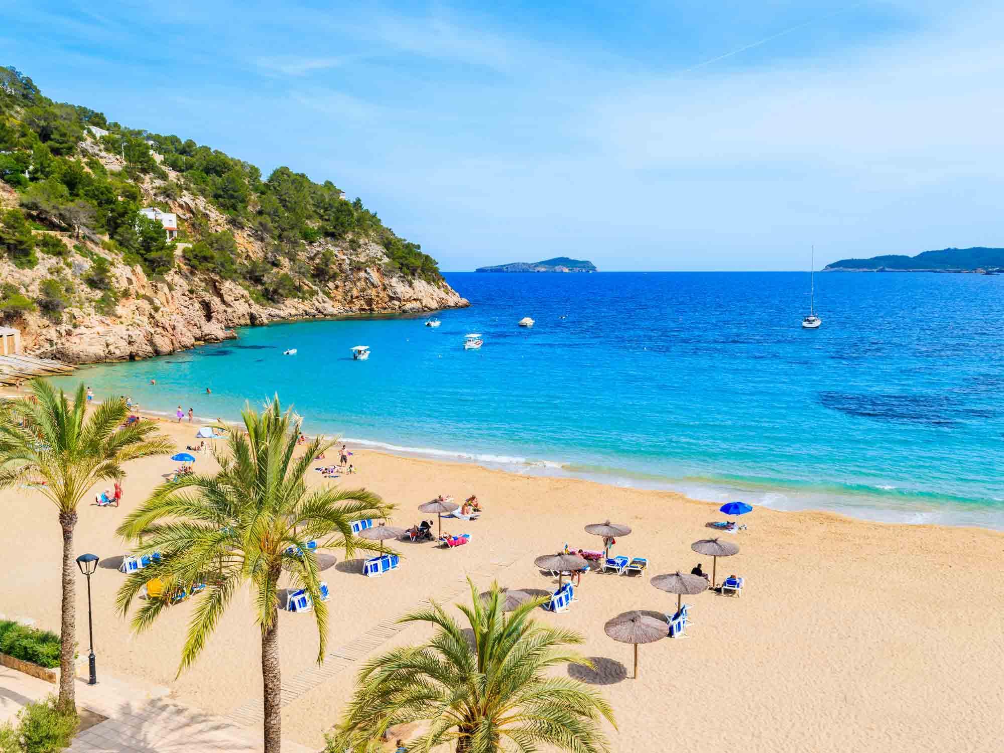 Ibiza - Z letalom na poti