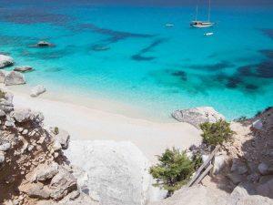 Sardinia - Z letalom na poti