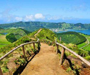 Azori - Z letalom na poti
